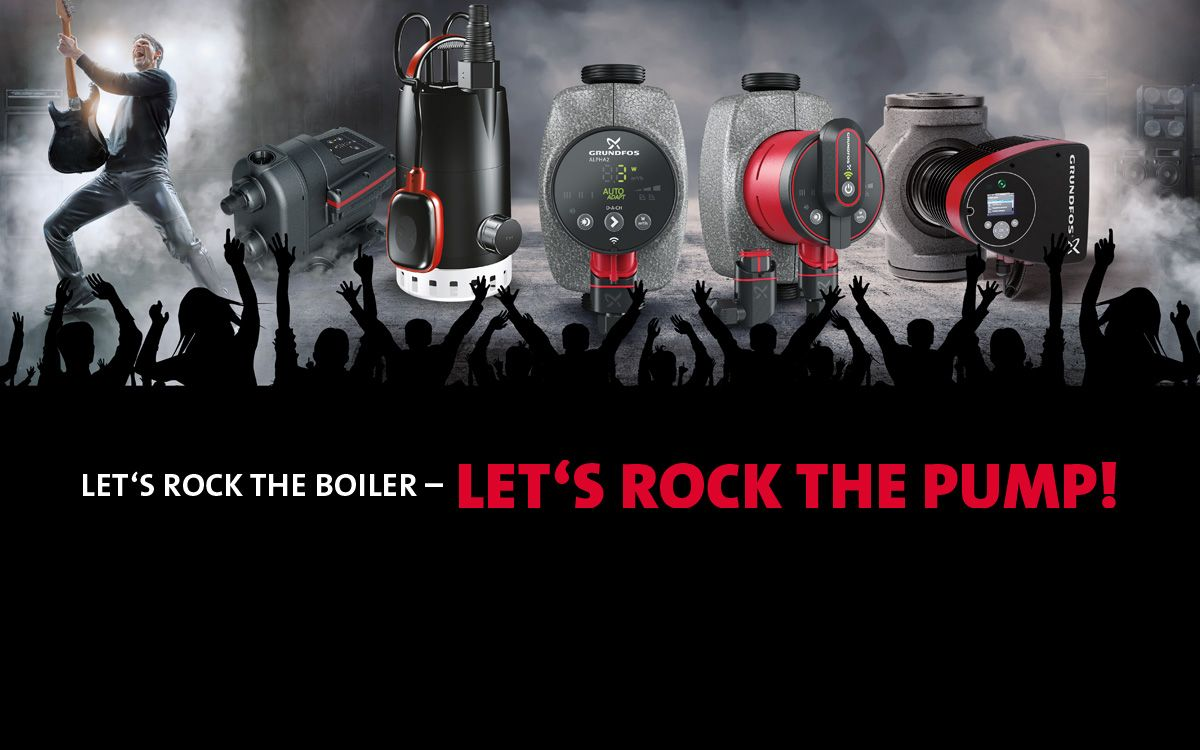 Grundfos Rock The Boiler